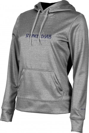 ProSphere Girls' Heathered Hoodie Sweatshirt