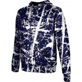 ProSphere Men's Distressed Hoodie Sweatshirt