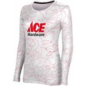 ProSphere Women's Topography Long Sleeve Tee