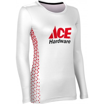 ProSphere Women's Geometric Long Sleeve Tee